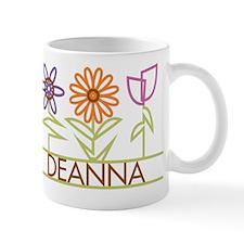 Deanna with cute flowers Mug