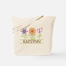 Kaitlynn with cute flowers Tote Bag