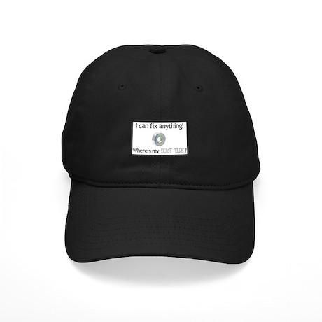 Duct Tape Black Cap