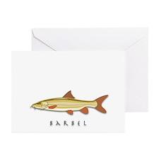 Barbel Greeting Cards (Pk of 10)