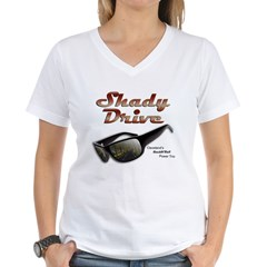 Shady Drive Women's V-Neck T-Shirt