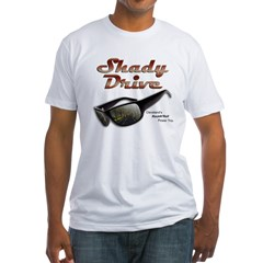 Shady Drive Fitted T-Shirt
