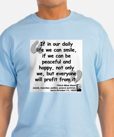Hanh Smile Quote T-Shirt
