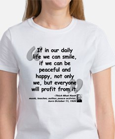 Hanh Smile Quote Tee