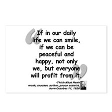 Hanh Smile Quote Postcards (Package of 8)