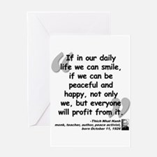Hanh Smile Quote Greeting Card