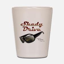 Shady Drive Shot Glass