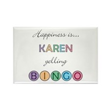 Karen BINGO Rectangle Magnet
