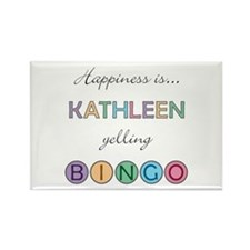 Kathleen BINGO Rectangle Magnet