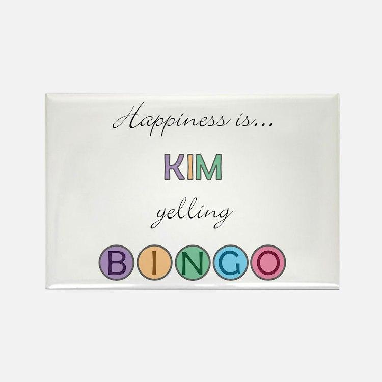 Kim BINGO Rectangle Magnet