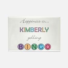 Kimberly BINGO Rectangle Magnet