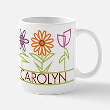 Carolyn with cute flowers Mug
