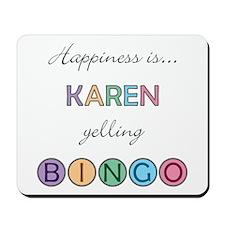 Karen BINGO Mousepad