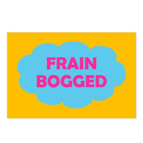 Frain Bogged (brain fogged) Postcards (Package of