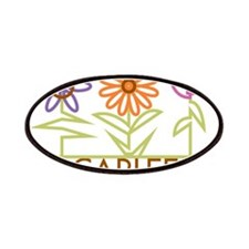 Carlee with cute flowers Patches