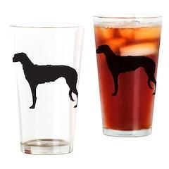 Deerhound Drinking Glass