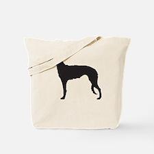 Deerhound Tote Bag
