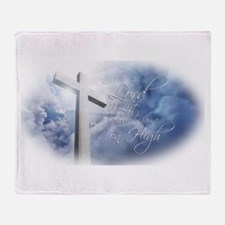 Lord I Lift Your Name on High Throw Blanket
