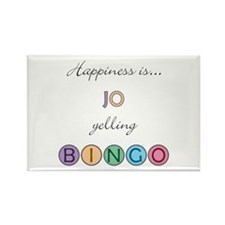 Jo BINGO Rectangle Magnet