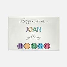 Joan BINGO Rectangle Magnet