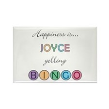 Joyce BINGO Rectangle Magnet