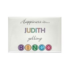 Judith BINGO Rectangle Magnet