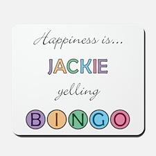 Jackie BINGO Mousepad