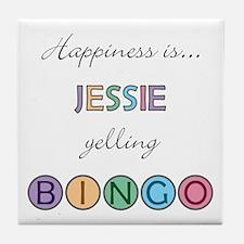 Jessie BINGO Tile Coaster