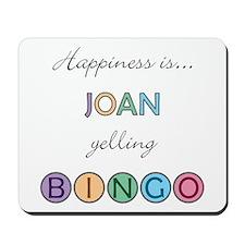 Joan BINGO Mousepad
