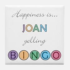 Joan BINGO Tile Coaster