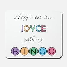 Joyce BINGO Mousepad