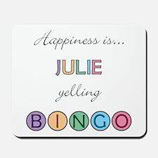 Julie BINGO Mousepad