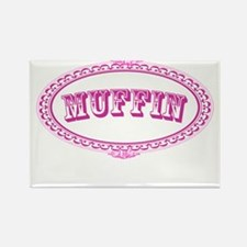 Muffin Rectangle Magnet