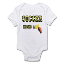 Yellow Card Infant Creeper