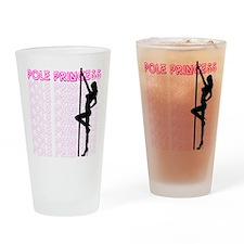 Pole Princess Drinking Glass