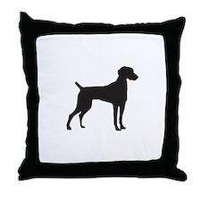 Weimeraner Throw Pillow