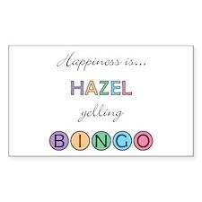 Hazel BINGO Rectangle Decal