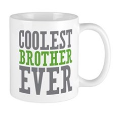 Coolest Brother Small Mugs