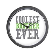 Coolest Brother Wall Clock