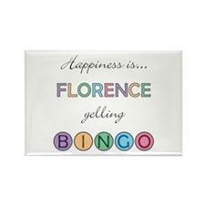 Florence BINGO Rectangle Magnet