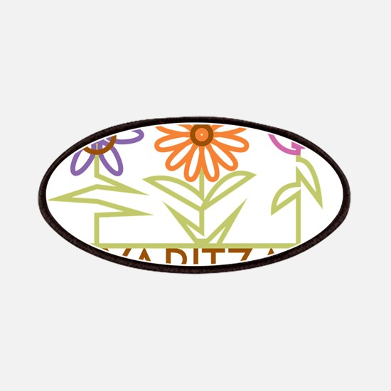 Yaritza with cute flowers Patches