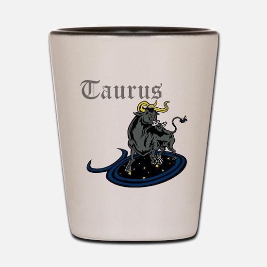Taurus Shot Glass