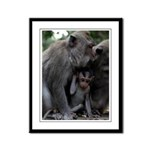 Mom and Baby -Framed Print