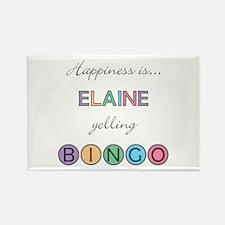 Elaine BINGO Rectangle Magnet