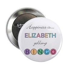 Elizabeth BINGO Button