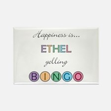 Ethel BINGO Rectangle Magnet