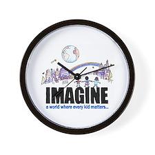 """""""Imagine"""" Wall Clock"""