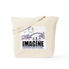 """""""Imagine"""" Tote Bag"""
