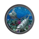Dolphin Wall Clocks