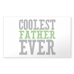 Coolest Father Decal
